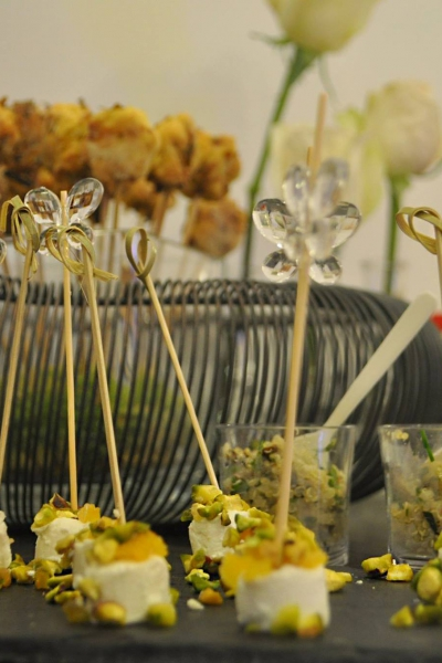 Kathy Kolibry - Cocktail floral inauguration Fleur de Mars