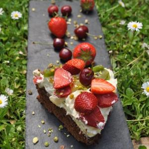 Gâteau tutti frutti sans gluten
