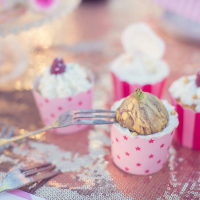 Kathy Kolibry - Shooting inspiration Blush Circus cupcake figue