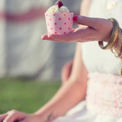 Kathy Kolibry - Shooting inspiration Blush Circus cupcake Framboise
