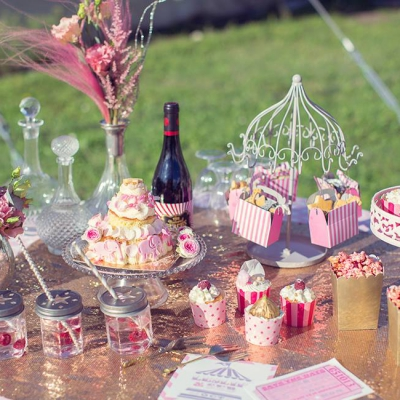 Kathy Kolibry - Shooting inspiration Blush Circus buffet