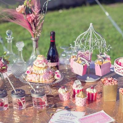 Kathy Kolibry - Shooting inspiration Blush Circus buffet