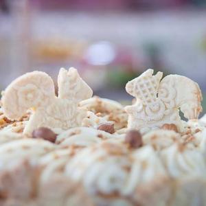 Kathy Kolibry - Inspiration pacs d'automne gâteau écureuil